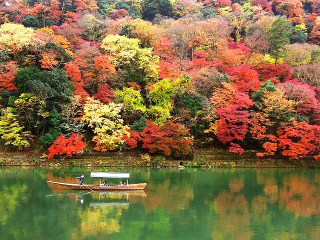 秋の京都に行くなら嵐山の紅葉を満喫しよう 2018年の見頃は?