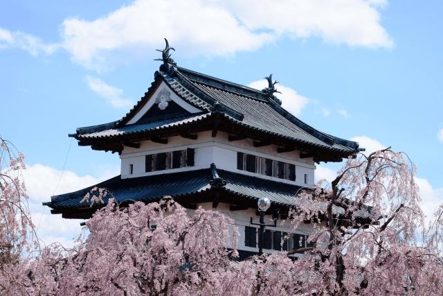 弘前公園の桜の開花予想と県外から行く場合の駐車場情報をお届け!