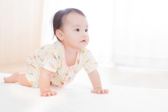 赤ちゃんのハイハイはいつから?私の娘が始めた時期と安全対策を紹介