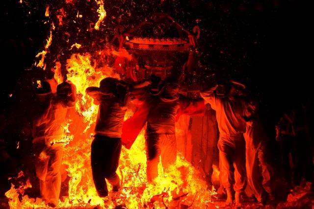 豊橋 炎の祭典2019の開催日や時間 手筒花火の感想は一味違う!?